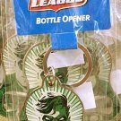 Six Flags Magic Mountain DC Justice League Green Lantern Bottle Opener-Keychain