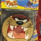 Six Flags Magic Mountain Looney Tunes Tasmanian Devil Face Round Large Magnet
