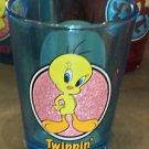 "Six Flags Magic Mountain Looney Tunes Tweety Bird ""Twippin'"" Shot Glass New"