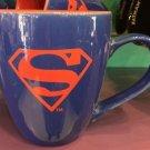 Six Flags Magic Mountain DC Superman Pastel Ceramic Mug New