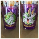 "Six Flags Magic Mountain Looney Tunes Bugs Bunny ""Photobomb"" Shot Glass New"