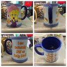 Six Flags Magic Mountain Looney Tunes Tweety Bird I Am Not An Early Bird Mug New