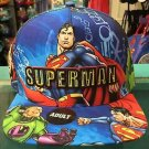 Six Flags Magic Mountain Superman Vs Lex Luthor Adjustable Snapback Hat Cap New