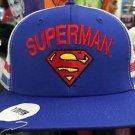 Six Flags Magic Mountain DC Superman Logo Adjustable Snapback Mesh Hat Cap New