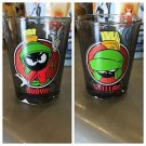 "Six Flags Magic Mountain Looney Tunes Marvin The Martian ""Booya"" Shot Glass New"