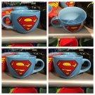 Six Flags Magic Mountain Justice League Superman 24oz Ceramic Mug / Bowl Cup New