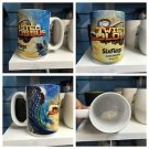 Six Flags Magic Mountain Twisted Colossus 16oz. Ceramic White Mighty Mug Cup New