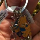 Disney Parks Winnie The Pooh and Friends Metal Keychain New