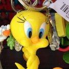 Six Flags Magic Mountain Looney Tunes Tweety Bird Figure Keychain New