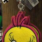 Six Flags Magic Mountain Looney Tunes Tweety Bird Felt Emb Keychain New
