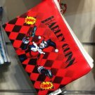 Six Flags Magic Mountain DC Harley Quinn Pow! Pow! Wristlet Wallet New