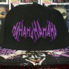 Six Flags Magic Mountain DC Comics Joker Hahahahaha Snapback Hat Cap New