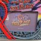 Six Flags Magic Mountain Resin 3-D Picture Photo Frame New