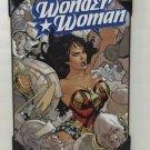 DC COMICS AMAZING WONDER WOMAN WOOD PLAQUE 13X19 NEW