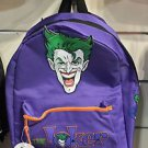 Six Flags Magic Mountain DC Comics The Joker & Batman Backpack Reversible Bag