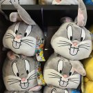 Six Flags Magic Mountain Looney Tunes Bugs Bunny Large Tube Plush New with Tags