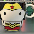 Six Flags Magic Mountain Justice League Wonder Woman Stackable Ceramic Mug New