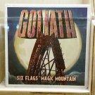 Six Flags Magic Mountain Goliath Ceramic Coaster Cup New