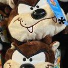 Six Flags Magic Mountain Looney Tunes Tasmanian Devil Large Tube Plush New