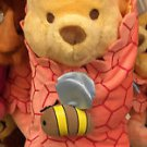 "Disney Parks Winnie The Pooh with Blanket 10"" Plush Doll Disney Babies NEW"