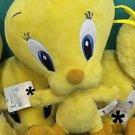 "Six Flags Magic Mountain Looney Tunes Baby Tweety Bird 10"" Plush New"
