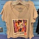 Six Flags Magic Mountain DC Harley Quinn Wide Neck T-Shirt SIZE S,M,L XL,XXL New
