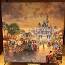 Disneyland 60th Diamond Celebration Canvas Wrap Print by Thomas Kinkade Studios