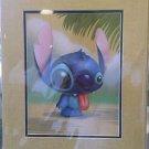 Disney WonderGround Gallery Stitch In Alelo Print By Kristin Tercek NEW