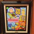Disneyland Diamond Celebration Decades LE Canvas Print 2005-2015 Costa Alavezos