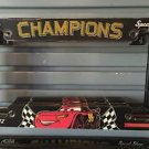 DISNEY PARKS DISNEY PIXAR CARS CHAMPIONS LICENSE PLATE FRAME NEW