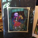 Disney Parks Captain Hook Peter Pan Shadow Deluxe Print by John Coulter New