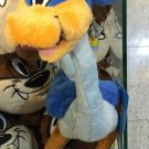 """Six Flags Magic Mountain Looney Tunes Road Runner 12"""" Beanbag Plush New with Tag"""