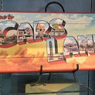 DISNEY PARKS DCA CARS LAND BILLBOARD WOOD PLAQUE NEW