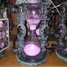DISNEY PARKS THE HAUNTED MANSION RESIN HOUR GLASS NEW