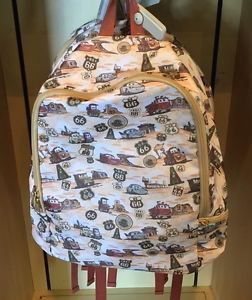 DISNEY PARKS DISNEY PIXAR CARS TOW MATER AND LIGHTNING MCQUEEN BACKPACK NEW