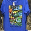 Six Flags Magic Mountain DC Comics Fear The Five T-Shirt SIZE: S,M,L XL,XXL