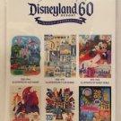 Disneyland Diamond Celebration Celebrating 6 Decades of Disneyland Magic Set of6