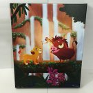 Disney WonderGround Lion King No Worries LE Canvas Print Signed by Nidhi Chanani