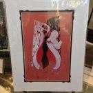 Disney WonderGround Gallery Cruella DeVille Print by J. Scott Campbell New