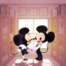 Disney WonderGround Gallery Mickey Minnie Mouse Compact Mirror Eunjung June Kim