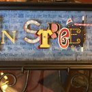 Disney Diamond Celebration MAIN STREET USA Icon Letters Shadow Box Dave Avanzino