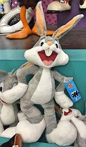 "Six Flags Magic Mountain Looney Tunes Large Bugs Bunny 27"" Plush New"