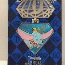 Disneyland 60th DIAMOND CELEBRATION Dumbo Annual Passholder Disney LE Pin