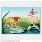 """Disney Parks Bambi in Meet Faline Deluxe Print by Don """"Ducky"""" Williams NEW"""