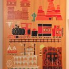 "Disney WonderGround Gallery ""Original"" Frontierland Canvas Print Benjamin Burch"