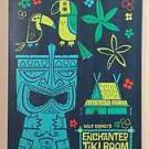 Disney WonderGround Original Enchanted Tiki Room Canvas Print SIGNED Ben Burch