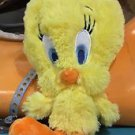 "Six Flags Magic Mountain Looney Tunes Fluffy Tweety Bird 8"" Plush New"