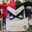 Six Flags Magic Mountain DC Red Black Harley Quinn Snapback Hat Cap New