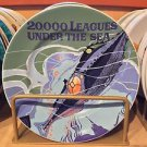 """Disney Parks Classic Poster Plate 20,000 Leagues Under The Sea 7"""" Plate New"""