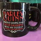 Six Flags Magic Mountain DC I'm Not Saying I'm Harley Quinn Ceramic Mug New
